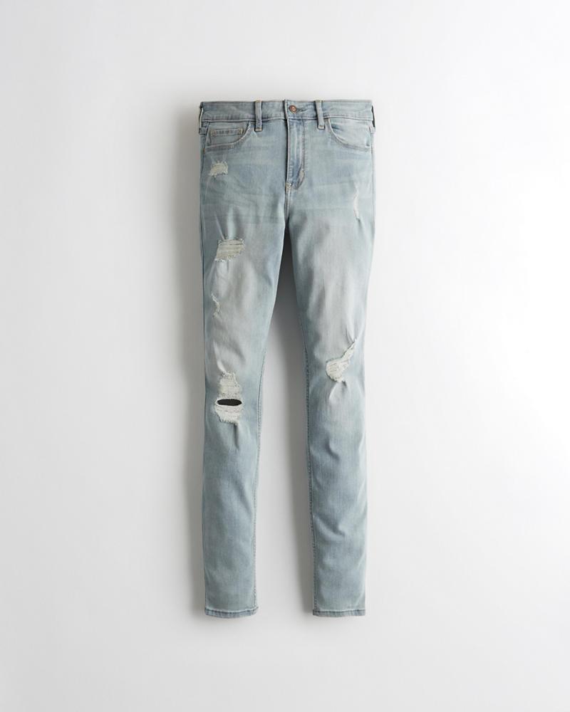 0a707b80cf03f Girls Classic Stretch High-Rise Super Skinny Jeans