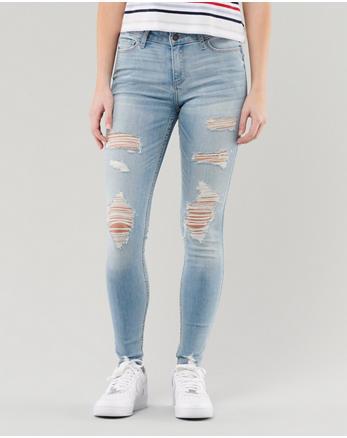 32868a2f2cea Classic Stretch Mid-Rise Super Skinny Jeans