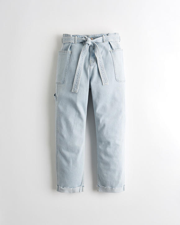 Vintage Stretch High Rise Boyfriend Jeans by Hollister