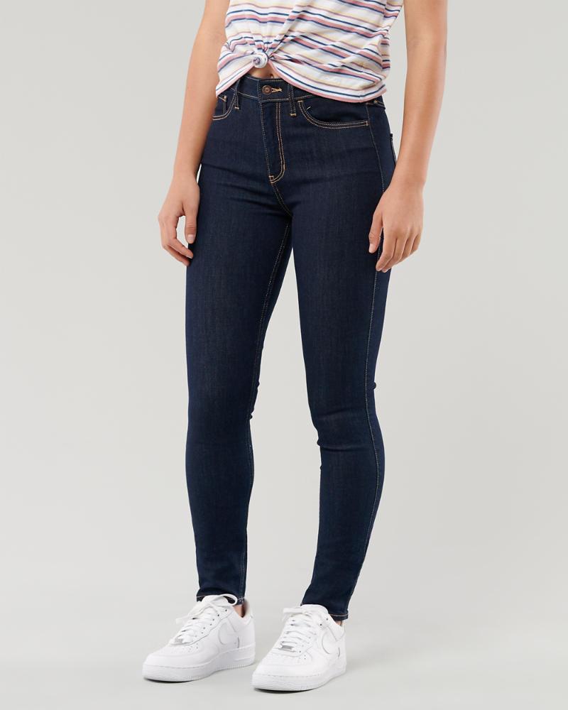 f58615b7a9 Filles Jean super skinny taille haute stretch classique | Filles ...