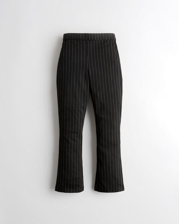 Ultra High Rise Crop Flare Pants by Hollister