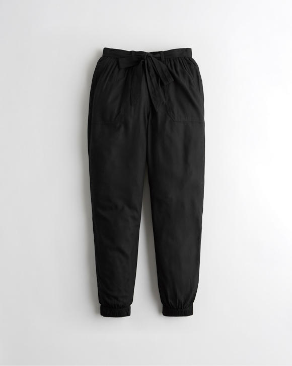 Ultra High Rise Belted Joggers by Hollister
