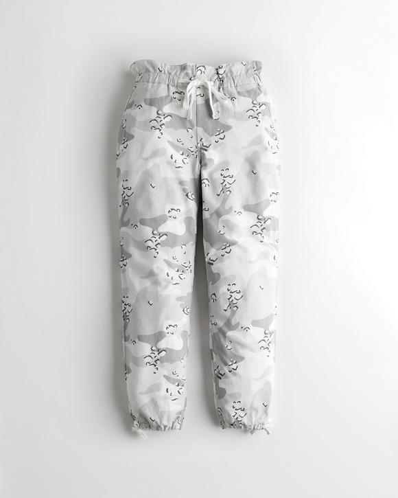 Classic Stretch Ultra High Rise Paper Bag Joggers by Hollister