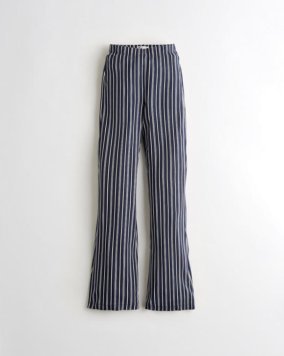 High Rise Knit Flare Pants by Hollister