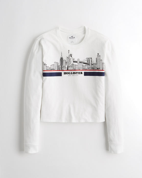 New York City Graphic Tee by Hollister