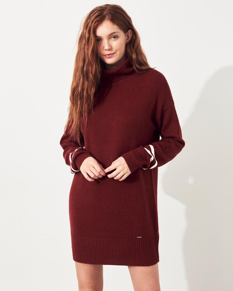 8139d33cfa Hollister Robe pull à col roulé | Hollister Guide cadeaux ...