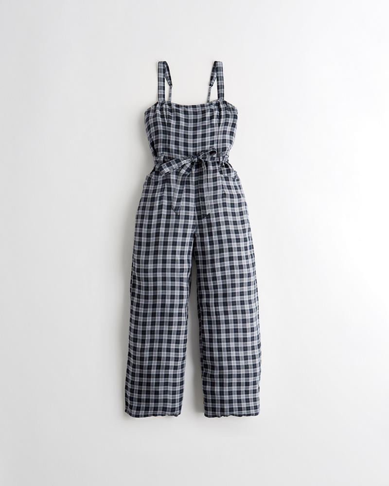feecff5bf52a Girls Crop Wide-Leg Jumpsuit