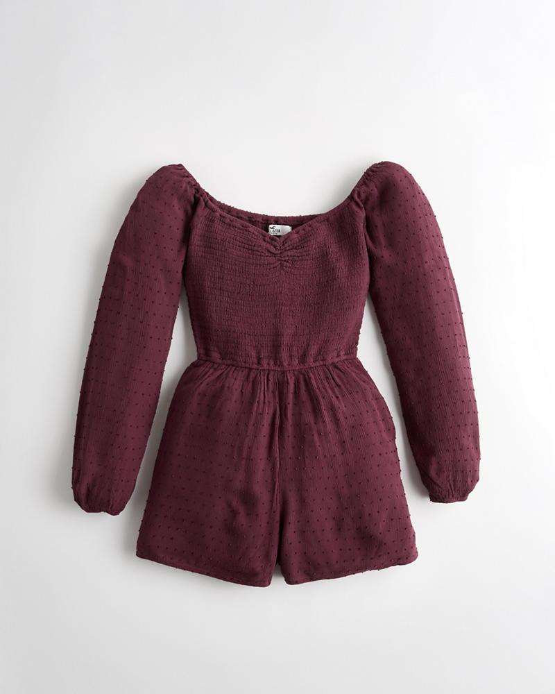 208efa9d8 Girls Smocked Romper | Girls Sale | HollisterCo.com