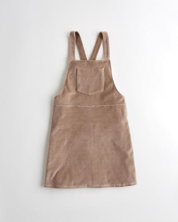 corduroy-skirt-overalls by hollister