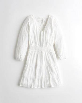 Girls Tie-Back Tiered Dress | Girls New Arrivals