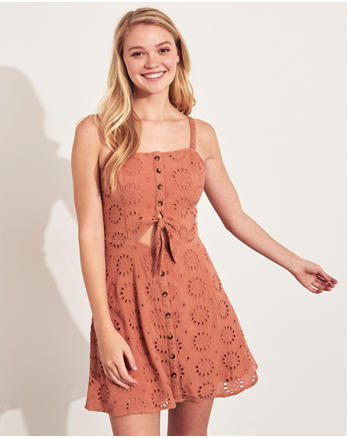 776dd0f08a92be Girls Dresses & Rompers | Online Exclusives | Hollister Co.