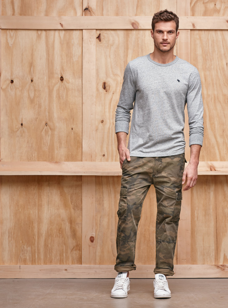 Pantaloni Abercrombie Uomo