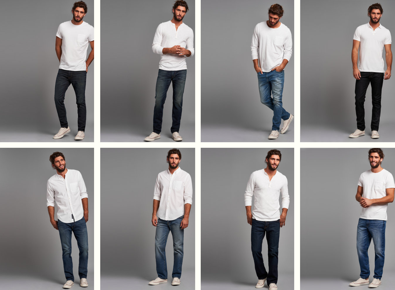 Mens Jeans Lineup