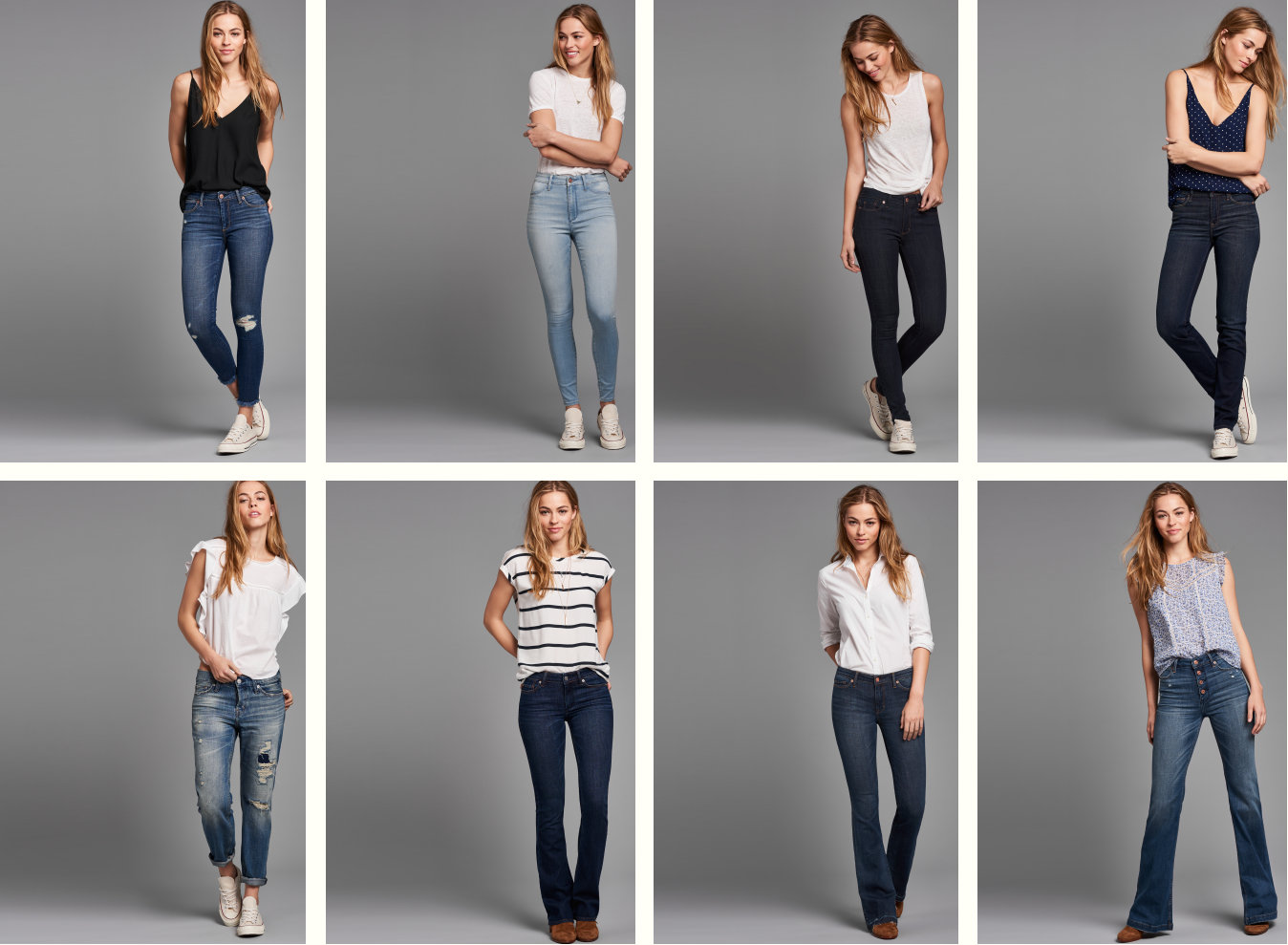 Womens Jeans Lineup