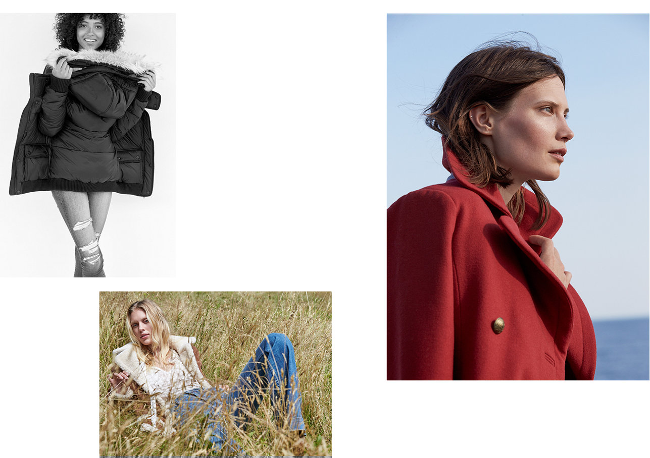 women in outerwear