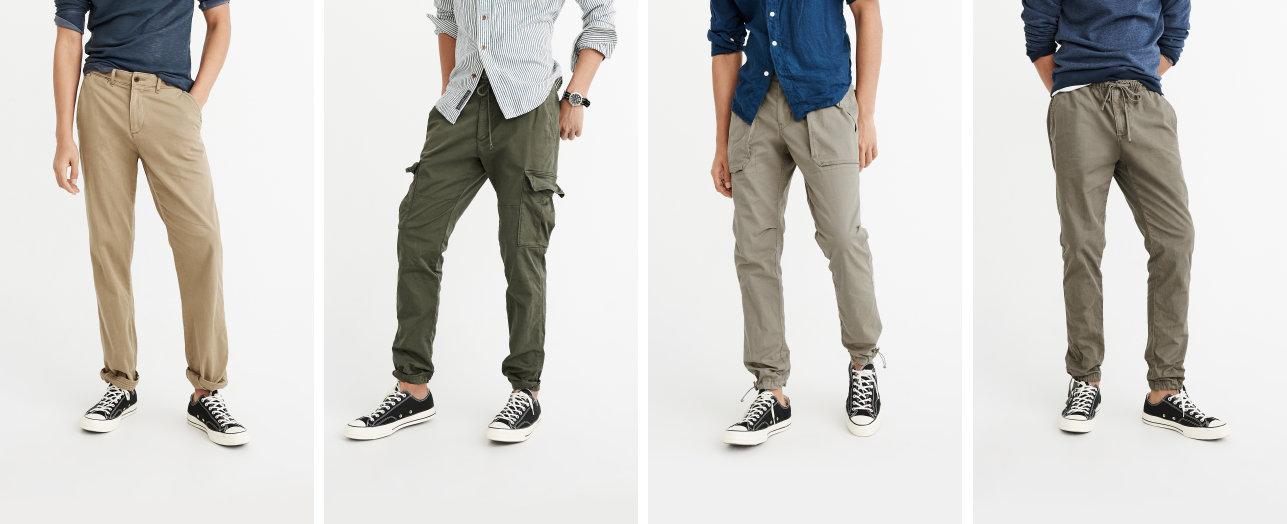Mens Pants &amp Chinos | Abercrombie &amp Fitch