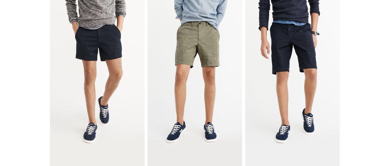Abercrombie Shorts Mens