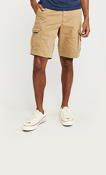 1e3fcd899d Mens Shorts | Abercrombie & Fitch