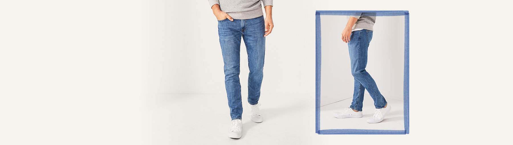 d00f4099 Mens Athletic Skinny Jeans | Abercrombie & Fitch