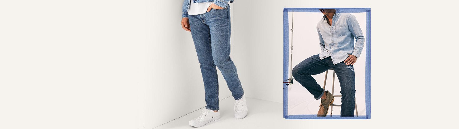 e359e889d1 Jeans ajustados de hombre