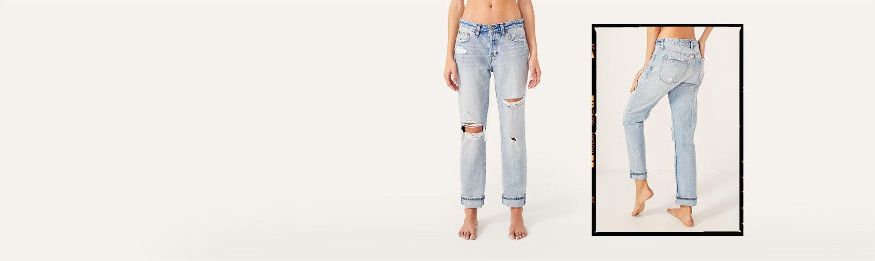 d992c9da76e woman in size 24 boyfriend jeans