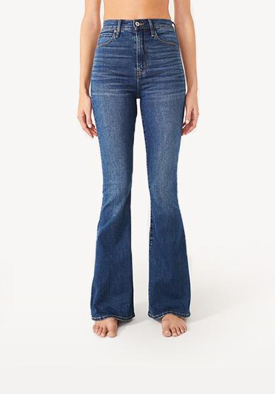 773ca9e3f7ae Womens Flare Jeans   Wide Leg Jeans