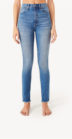 36d43897b1b front view of woman in high rise jeans