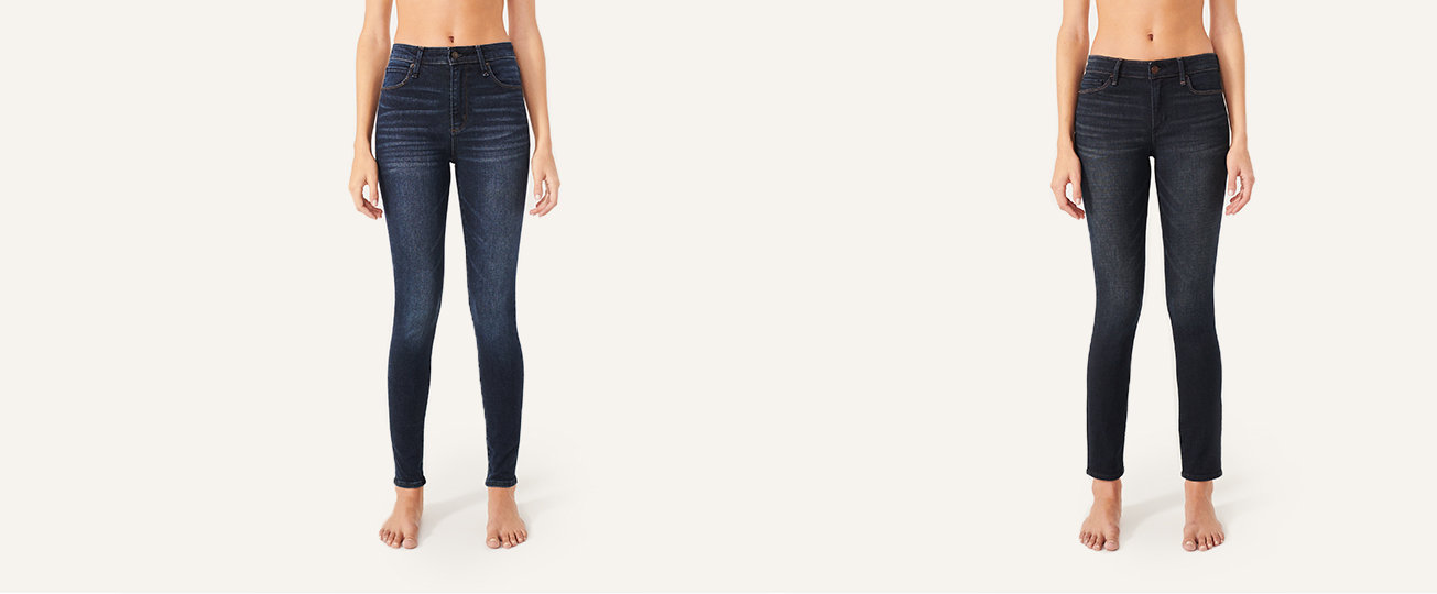 eb9520a6724 Womens Jeans. High Rise Super Skinny Jeans