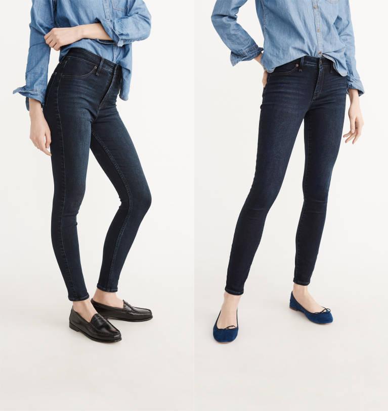 damen jeans leggings abercrombie fitch. Black Bedroom Furniture Sets. Home Design Ideas