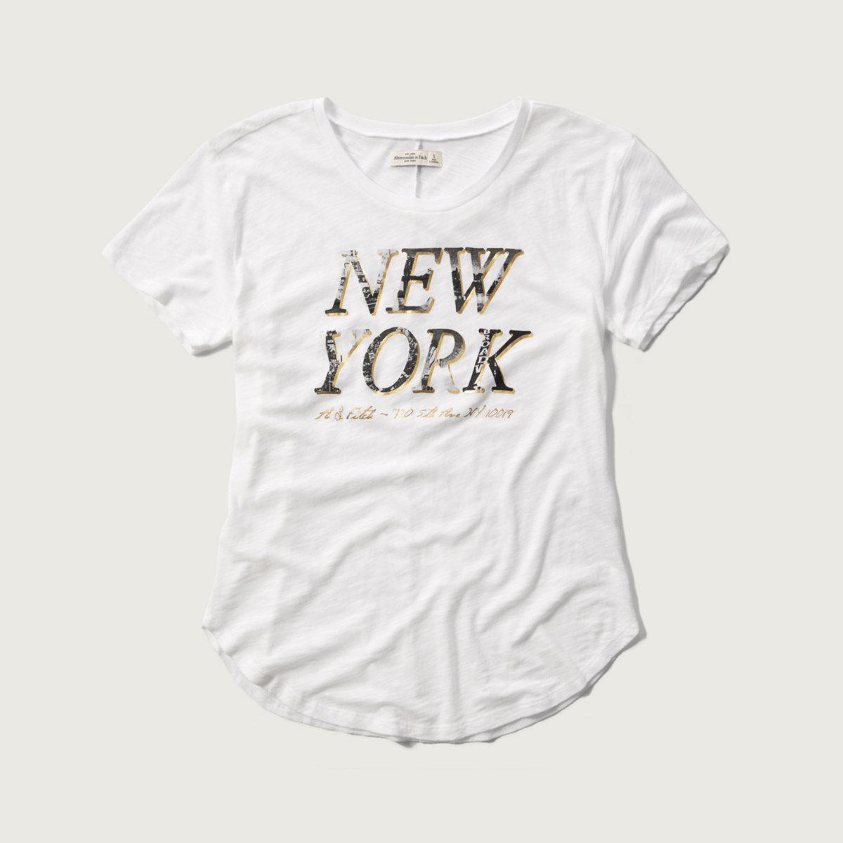 New York Shine Graphic Tee