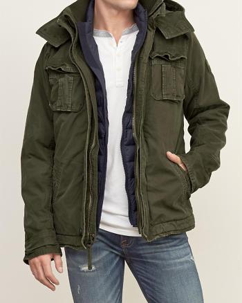 ANF A&F Premium Mountain Jacket