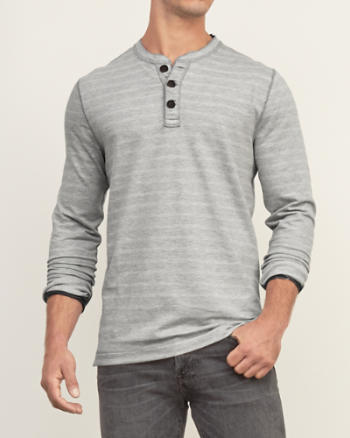 Mens Heavyweight Henley