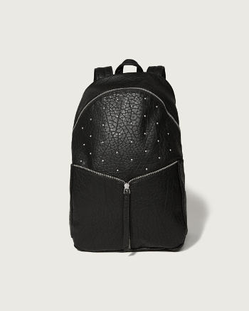 ANF Studded Faux Leather Backpack