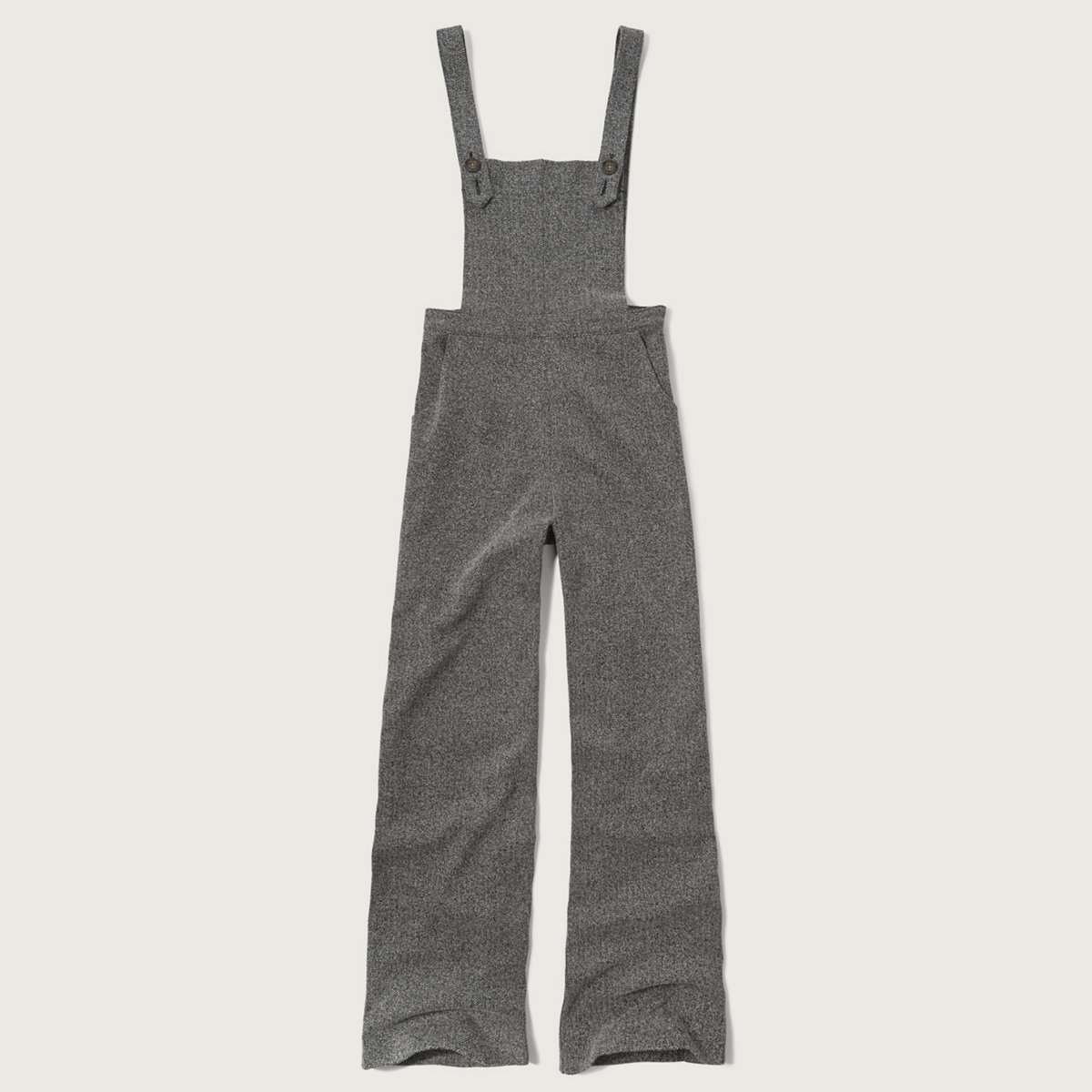 Textured Wide Leg Overall