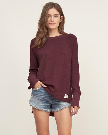 ANF High Low Hem Sweatshirt