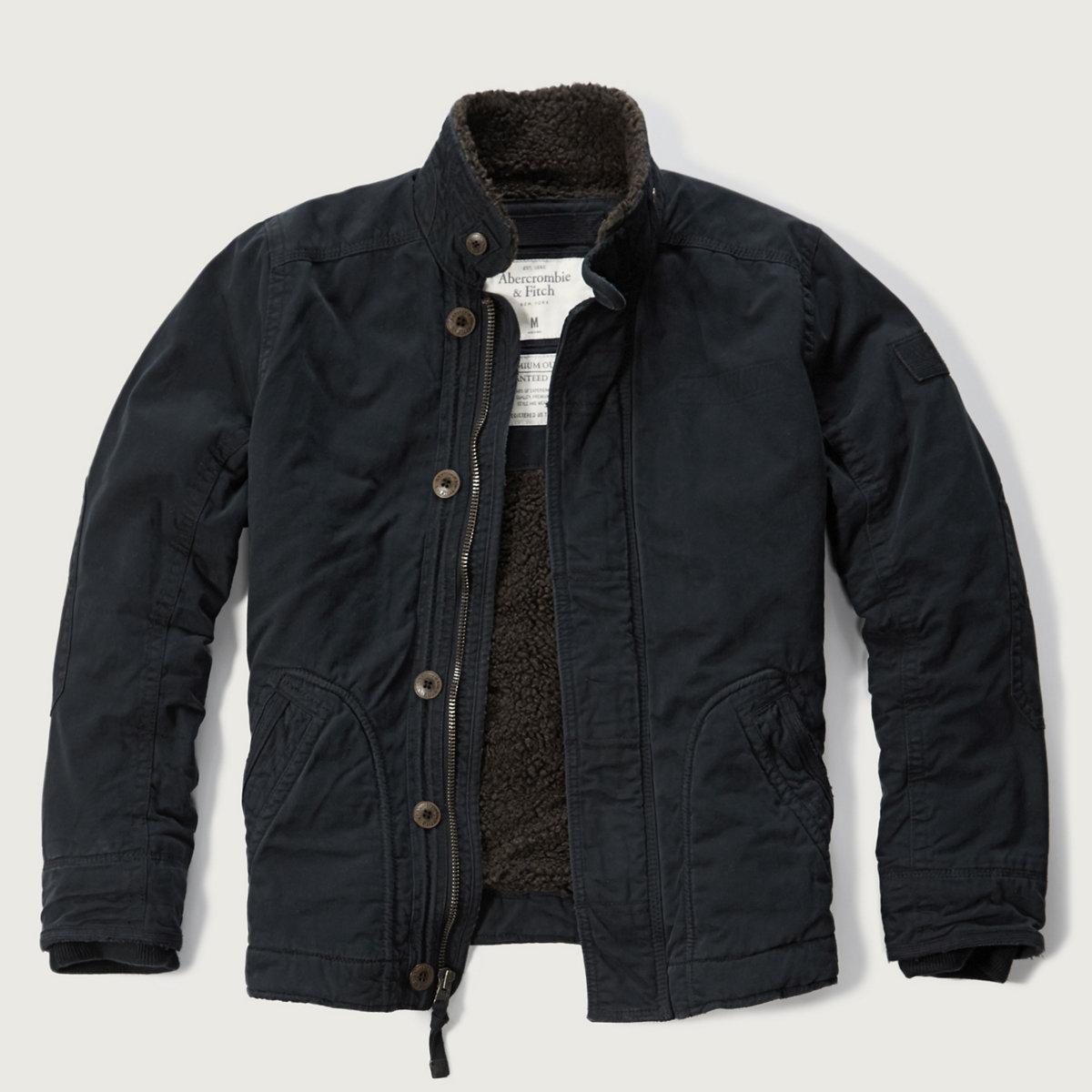 Sherpa Lined Utility Jacket