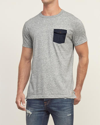 ANF Military Pocket Tee