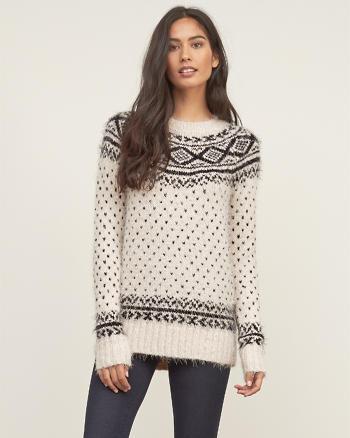 ANF Fair Isle Shine Sweater