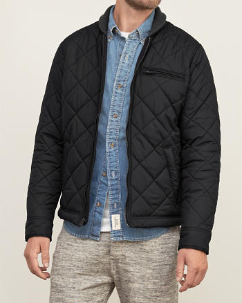 ANF Premium Quilted Bomber Jacket