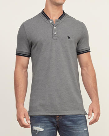 ANF Tipped Henley