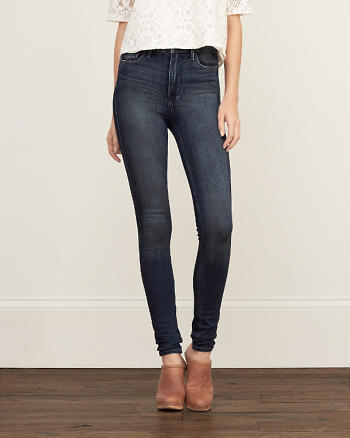ANF High Rise All-way Stretch Super Skinny Jeans
