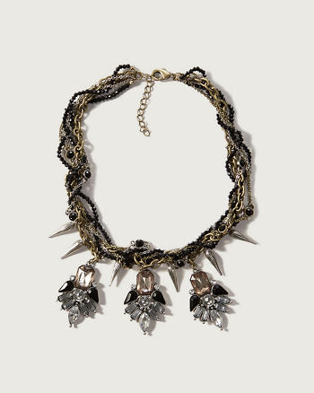 ANF Spike Statement Necklace