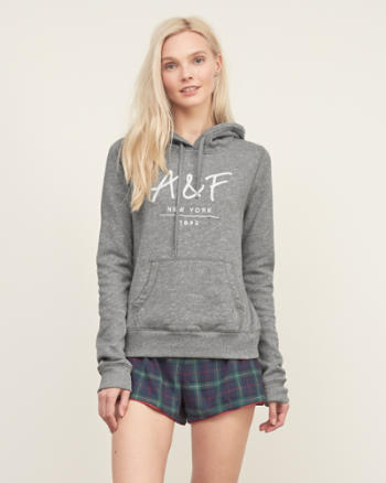 ANF Logo Graphic Hoodie