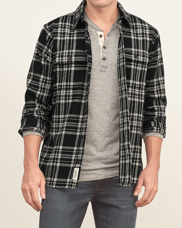 Mens plaid flannel shirt mens clearance for How to wear men s flannel shirts