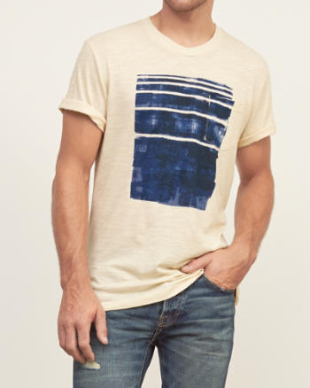 Mens Vintage Graphic Tee