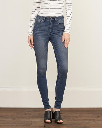 ANF Super Soft High Rise Super Skinny Jeans