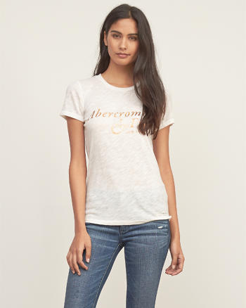 ANF Foil Graphic Tee