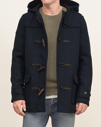 ANF Wool Duffle Jacket