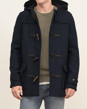 ANF Wool Duffle Jacket