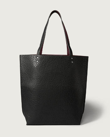 ANF Reversible Faux Leather Tote